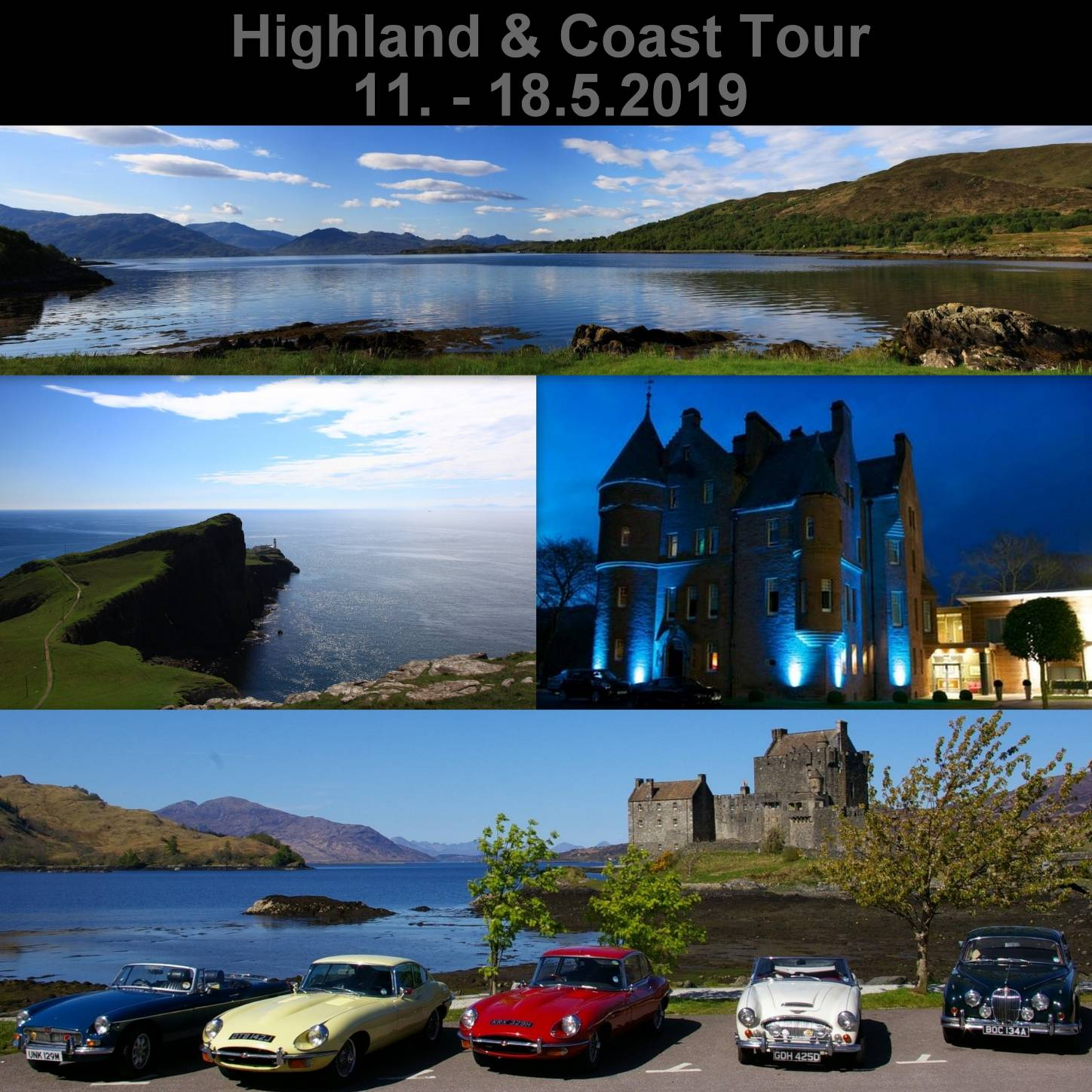 Highlands & Coast Tour 2019