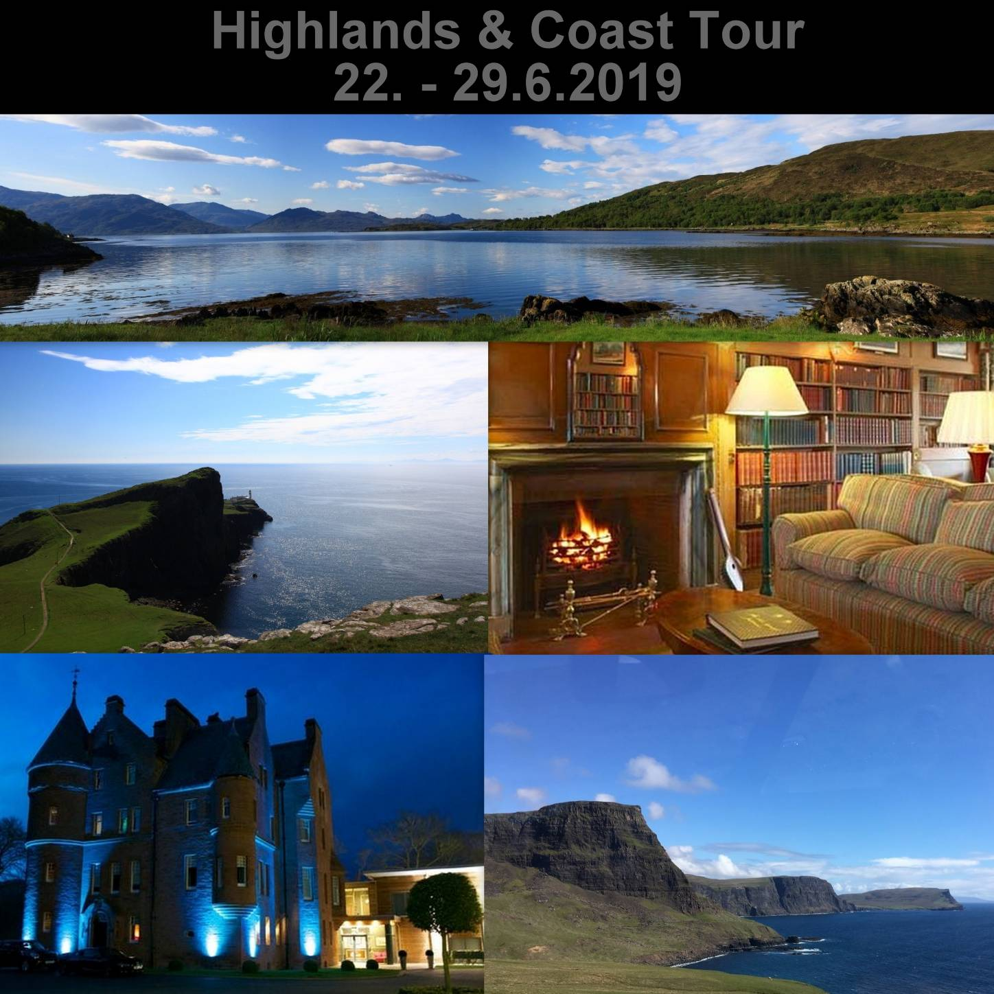 Highland & Coast Tour 2019